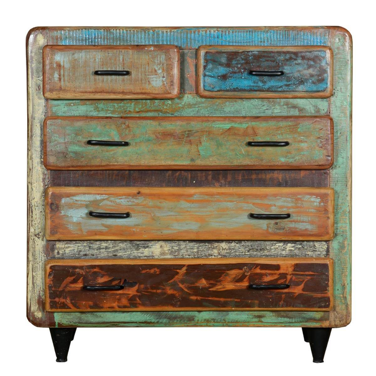 Appalachian Rustic Painted Reclaimed Wood Furniture