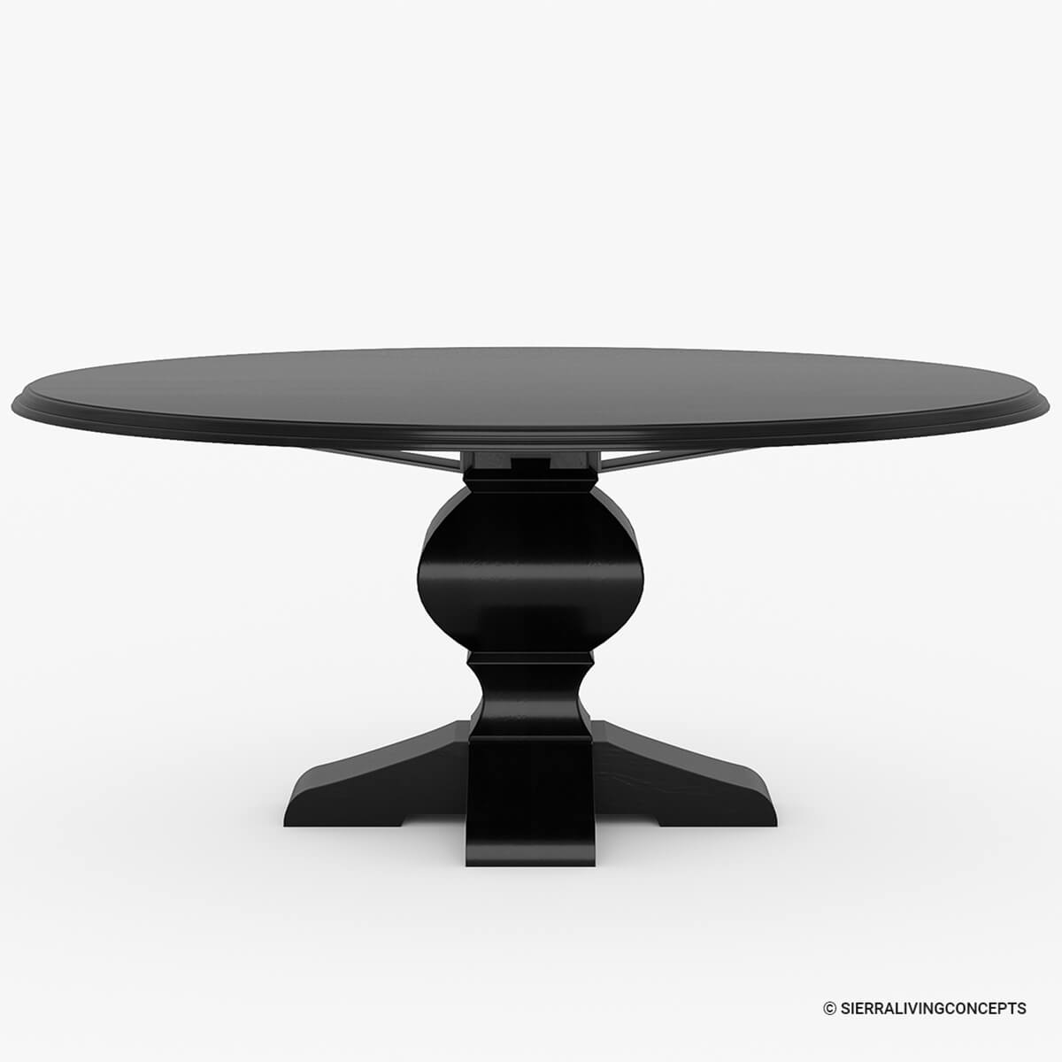 By Room Dining Room Dining Tables Large 84 Round Dining Table For 10 ...