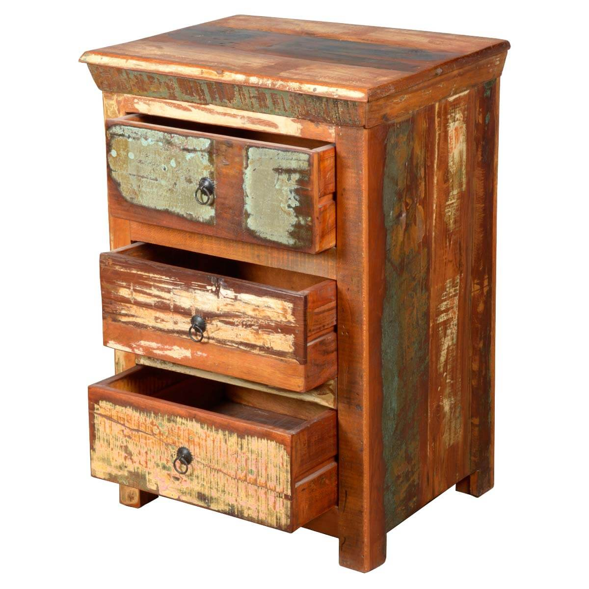 Mini Chest Of Drawers ~ Rustic reclaimed wood mini chest of drawers dresser