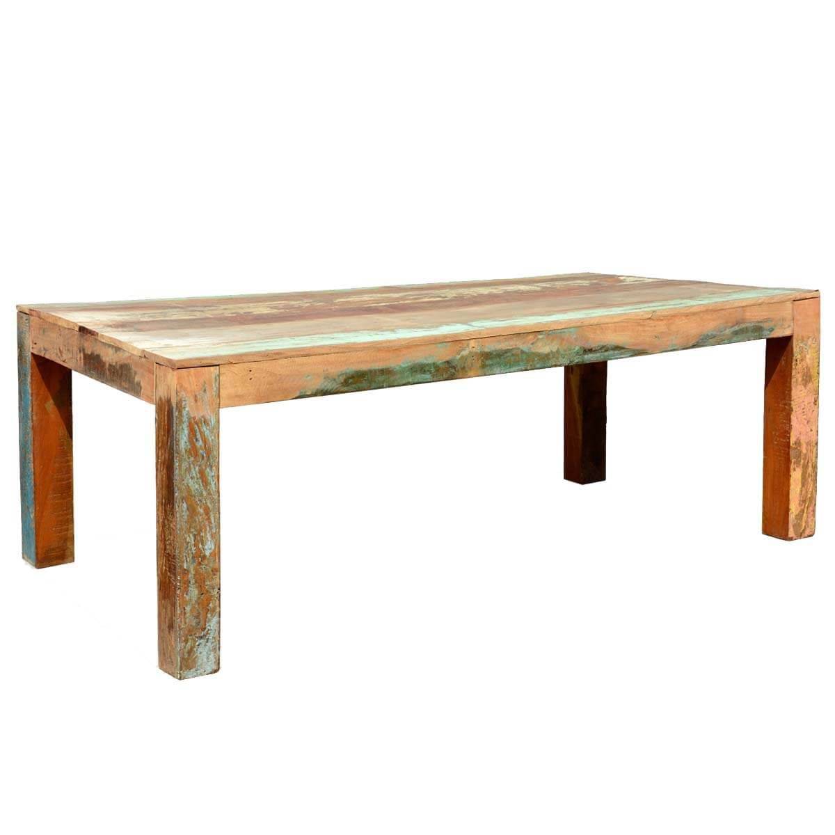 Appalachian Rustic Large Reclaimed Wood Dining Table