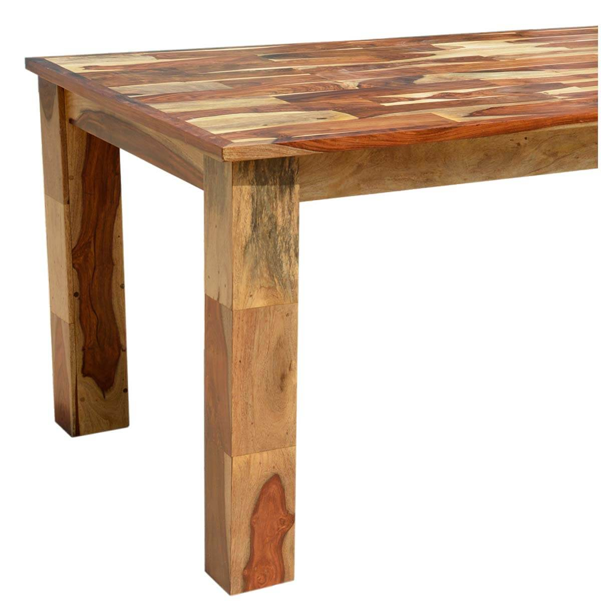 dining tables cariboo rustic solid wood large rectangular dining table