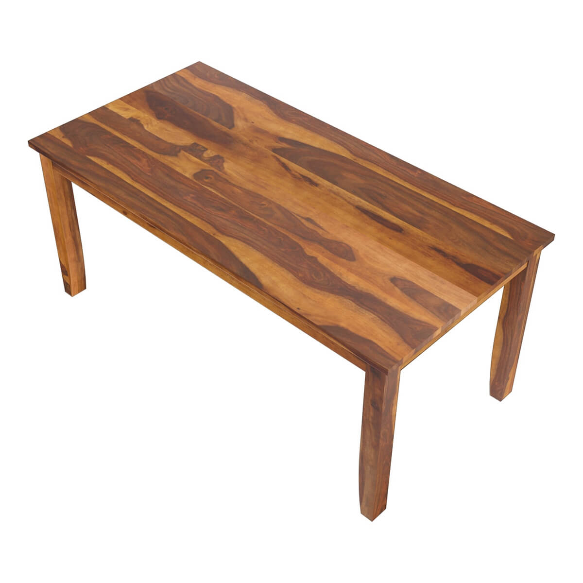 Cariboo Contemporary Tapered Legs Solid Wood Dining Table : 44232 from sierralivingconcepts.com size 1200 x 1200 jpeg 128kB