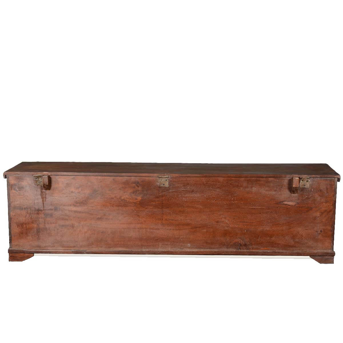 Wonderful image of  Collection Extra Long Rustic Reclaimed Wood Storage Trunk Chest with #AB8020 color and 1200x1200 pixels