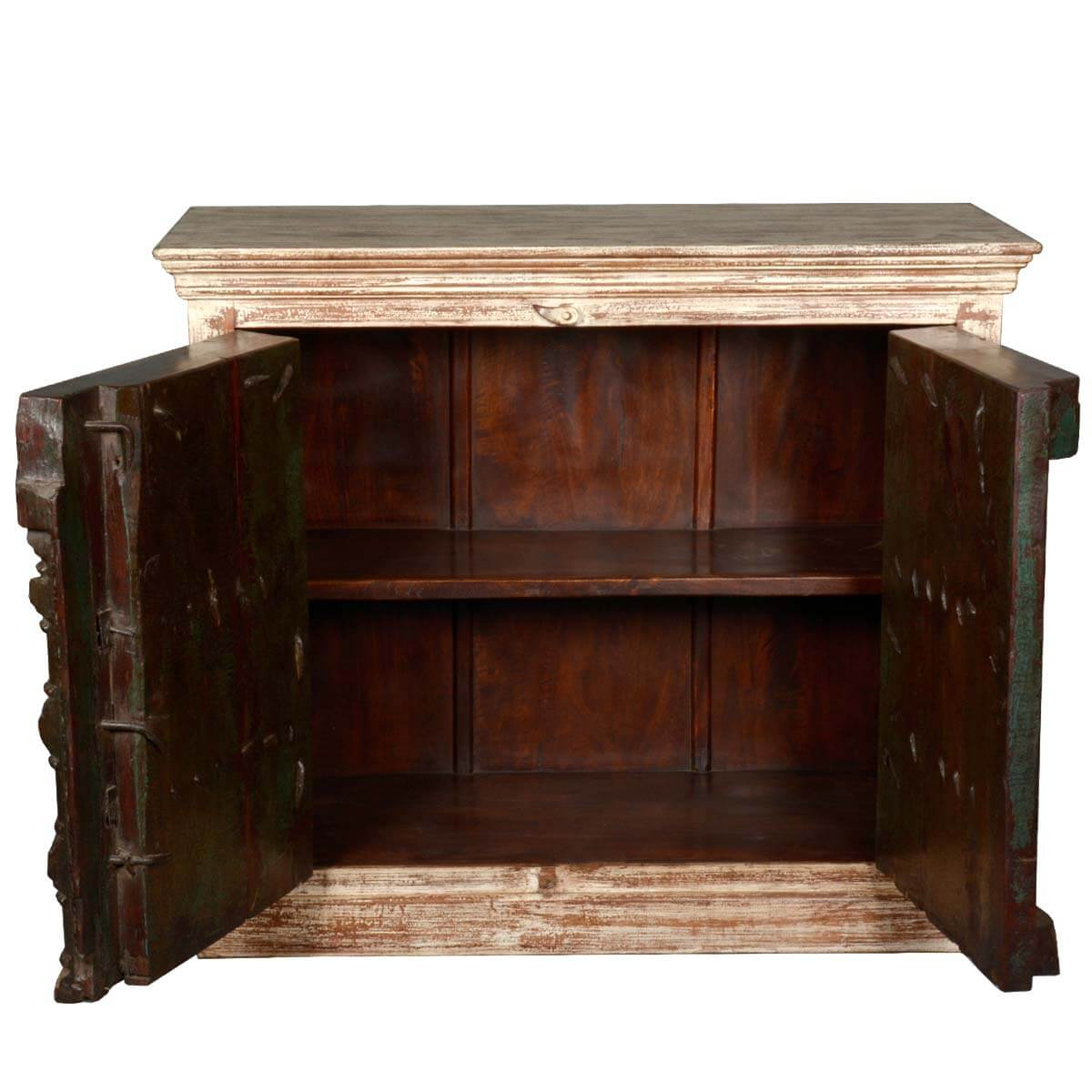 Marvelous photograph of  Reclaimed Wood Furniture Gothic Antique Rustic Sideboard Cabinet with #AD7A1E color and 1200x1200 pixels