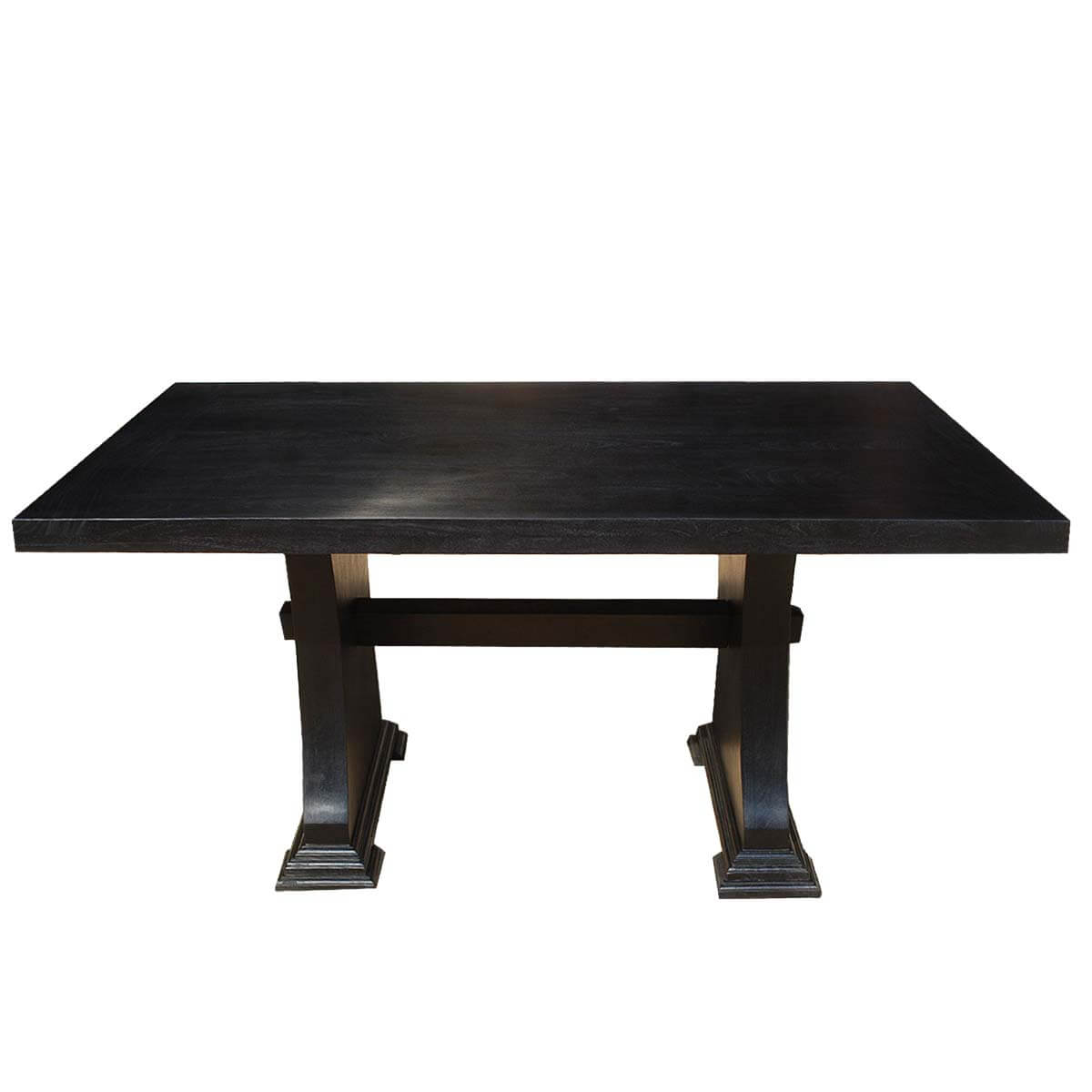 by room dining room dining tables pelham solid wood rectangle trestle