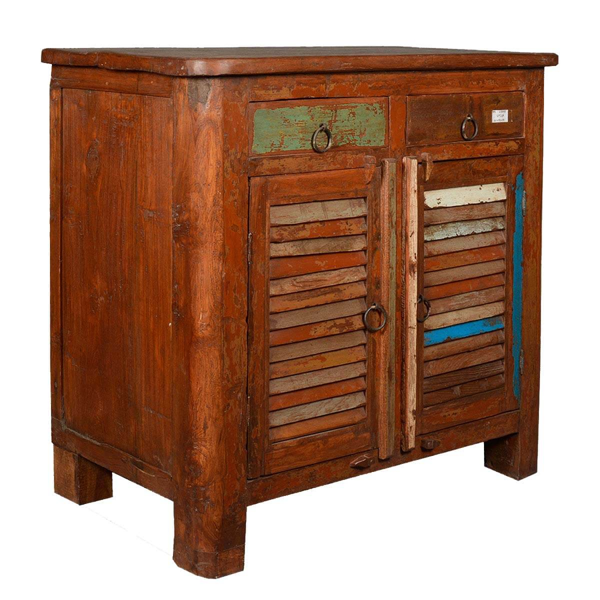 Appalachian rustic storage utility cabinet reclaimed wood for Wood cabinets