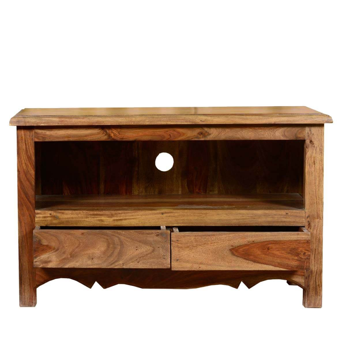 Wood Entertainment Stand ~ Colonial solid wood entertainment center quot tv stand