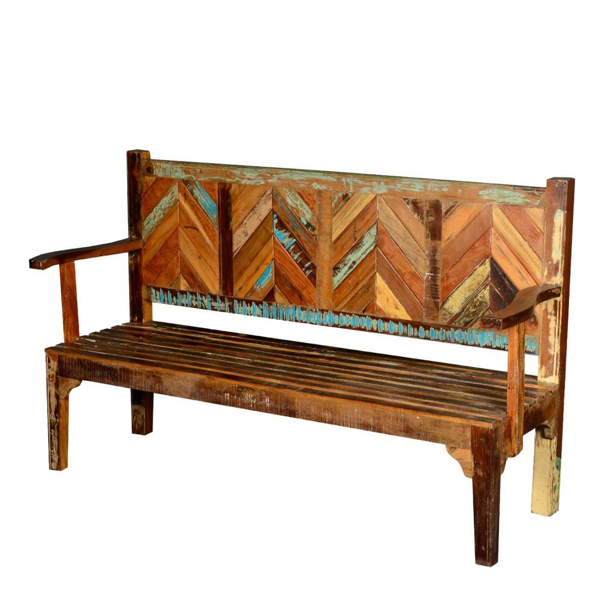 #B04F11  Benches And Sofas Rustic Reclaimed Wood Parquet High Back Porch Wooden with 1200x1200 px of Highly Rated High Back Wooden Bench 12001200 picture/photo @ avoidforclosure.info