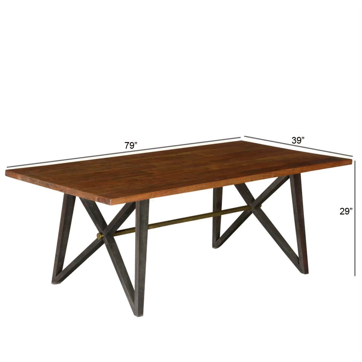home furniture by room dining room dining tables mckay rustic x frame