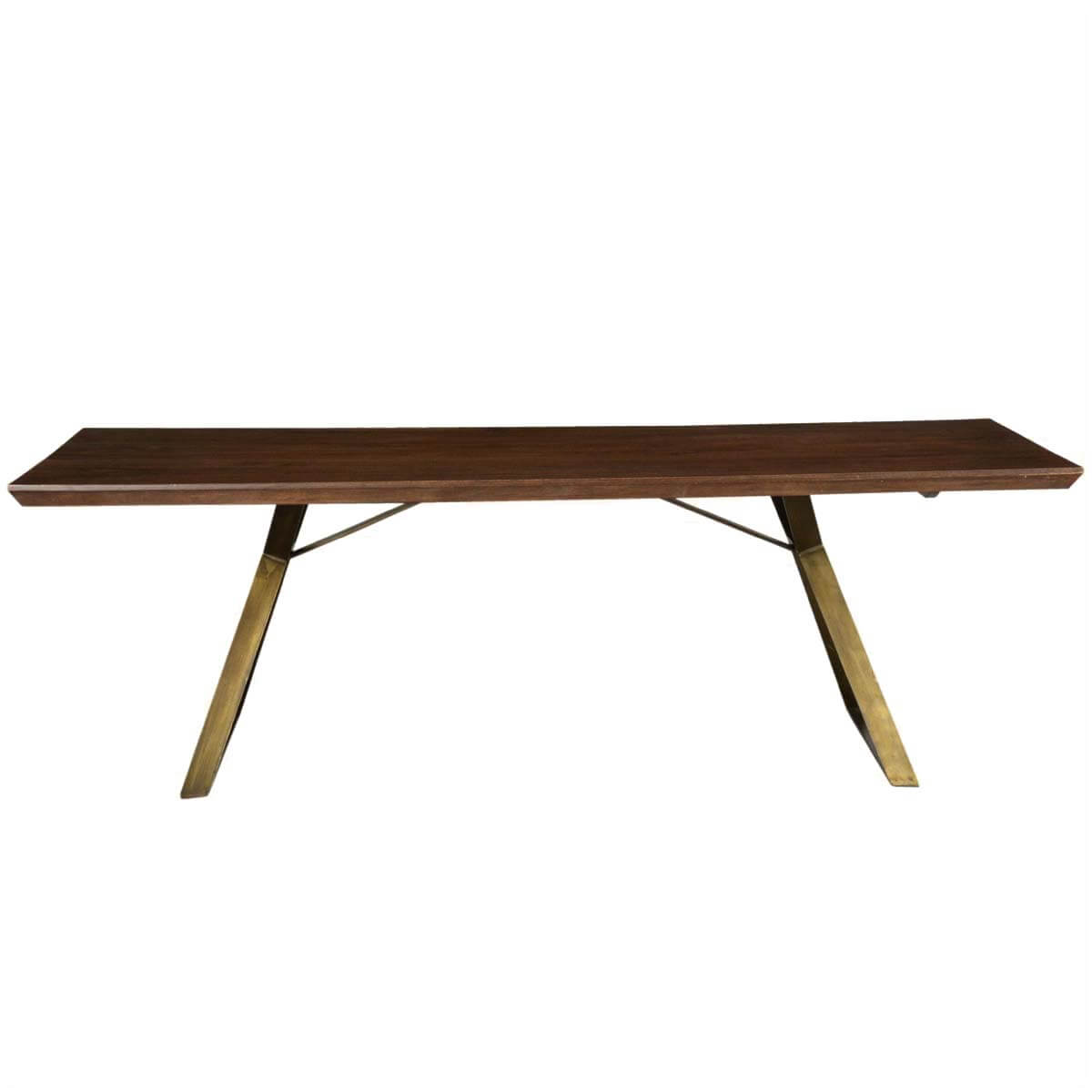 Industrial Style Dining Room Tables: Rustic Hankin Industrial Factory Loft Style Wood & Iron