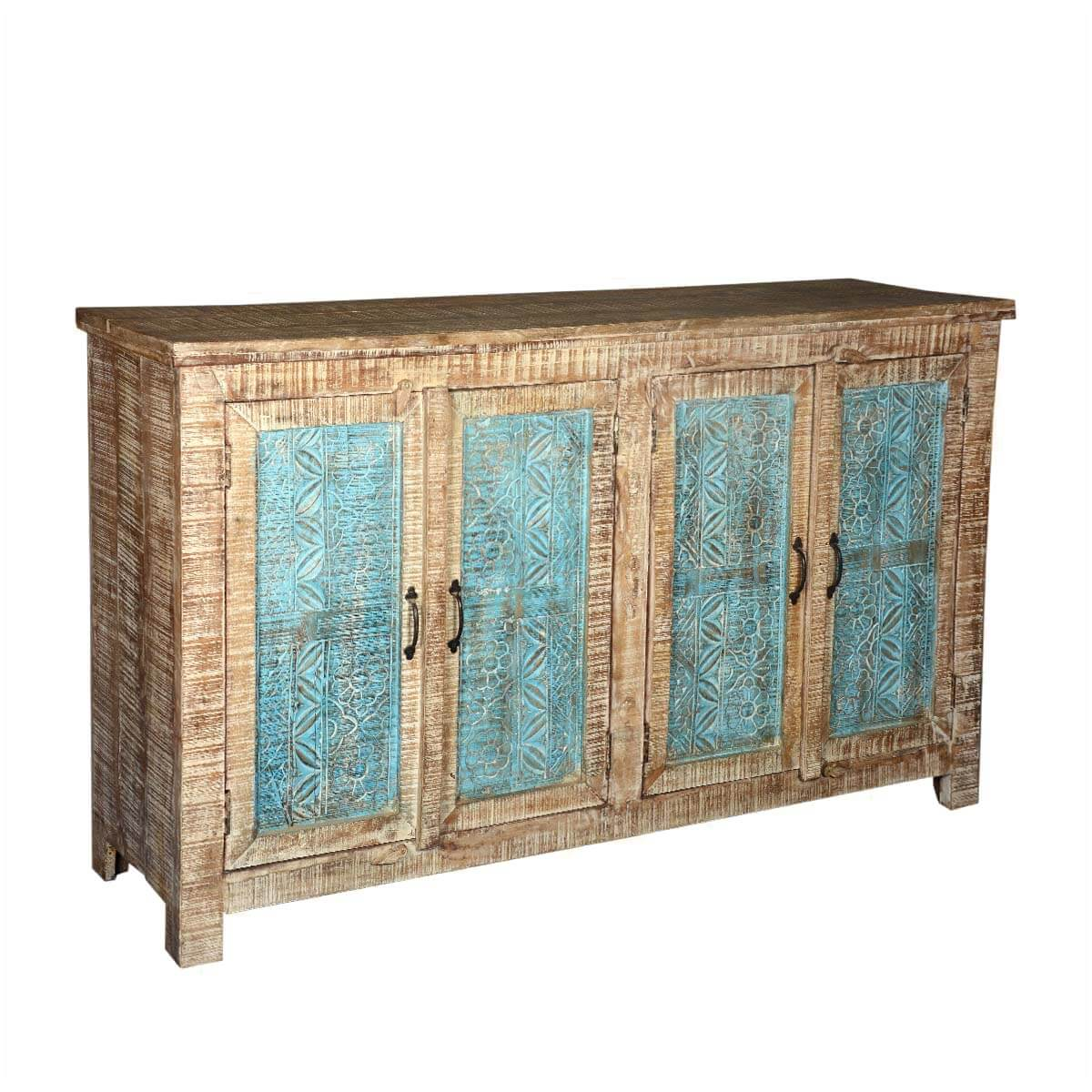 Santa Fe Textured Mango Wood Sideboard Buffet Cabinet. Full resolution‎  file, nominally Width 1200 Height 1200 pixels, file with #9F7C2C.