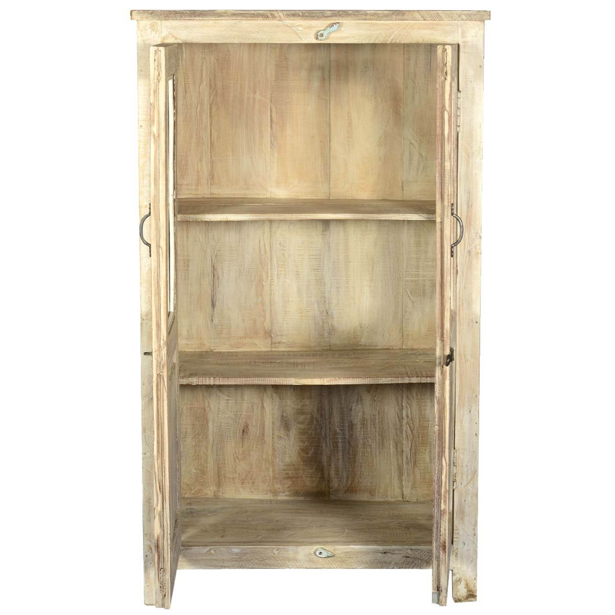 Tall Wooden Storage Cabinets ~ Door reclaimed wood tall storage cabinet