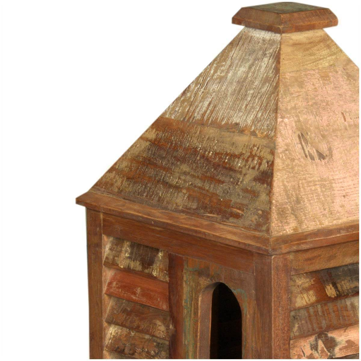 rustic log cabin birdhouses - photo #19