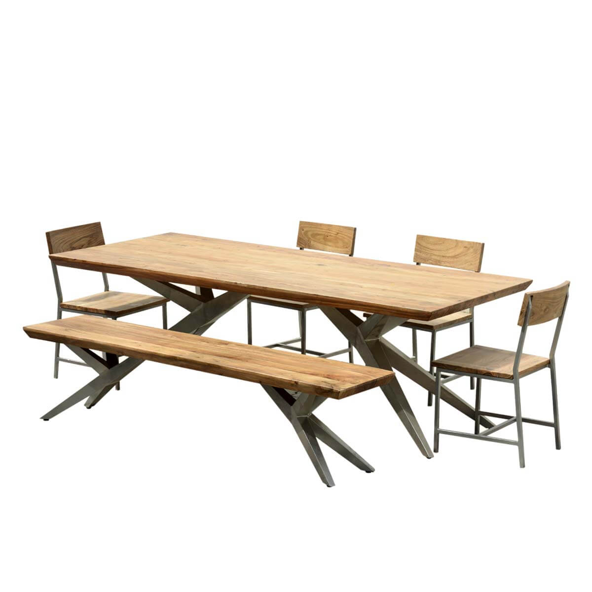 Dining Tables Unique Industrial Spyder Loft Solid Wood Hankin Large