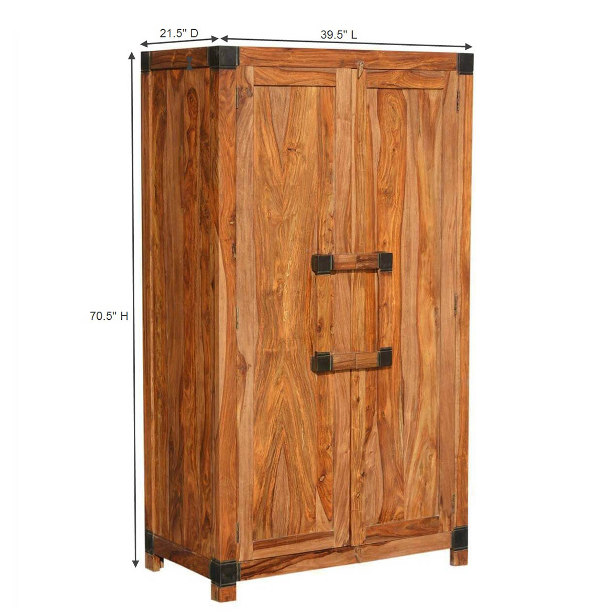 Unfinished Wood Armoire ~ Princeton solid wood drawer wardrobe armoire