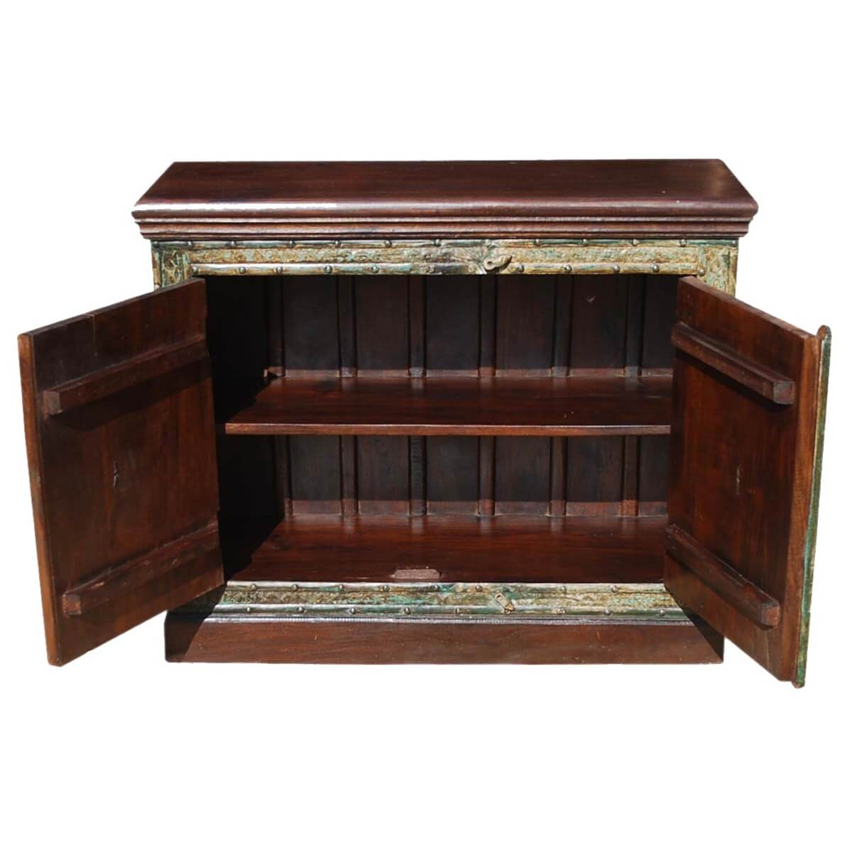 Gothic 2 Door Reclaimed Wood Furniture Storage Buffet
