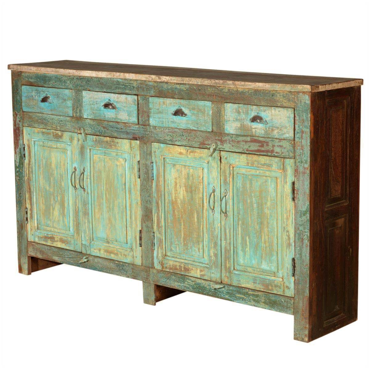shaker prairie meadow reclaimed wood sideboard buffet cabinet. Black Bedroom Furniture Sets. Home Design Ideas