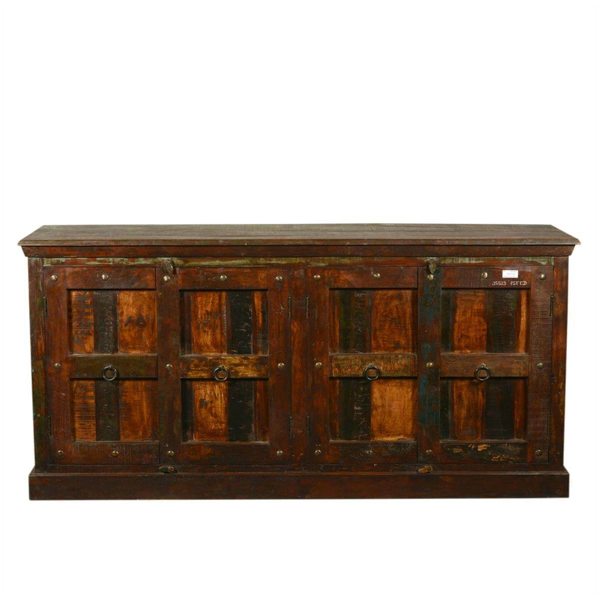 72 Quot Large Rustic Reclaimed Wood Furniture Sideboard Buffet