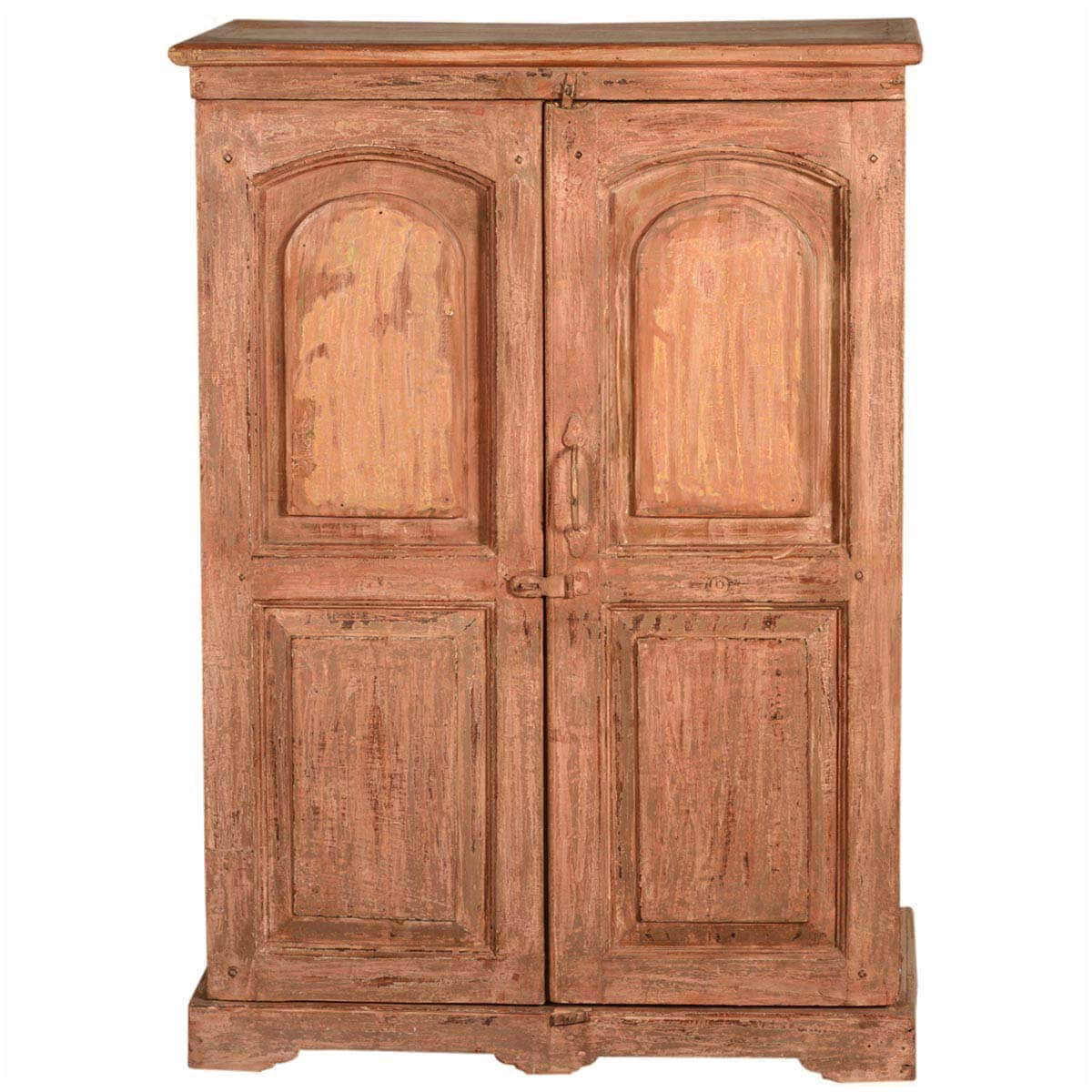 New orleans rustic reclaimed wood storage cabinet armoire Newwood cupboards