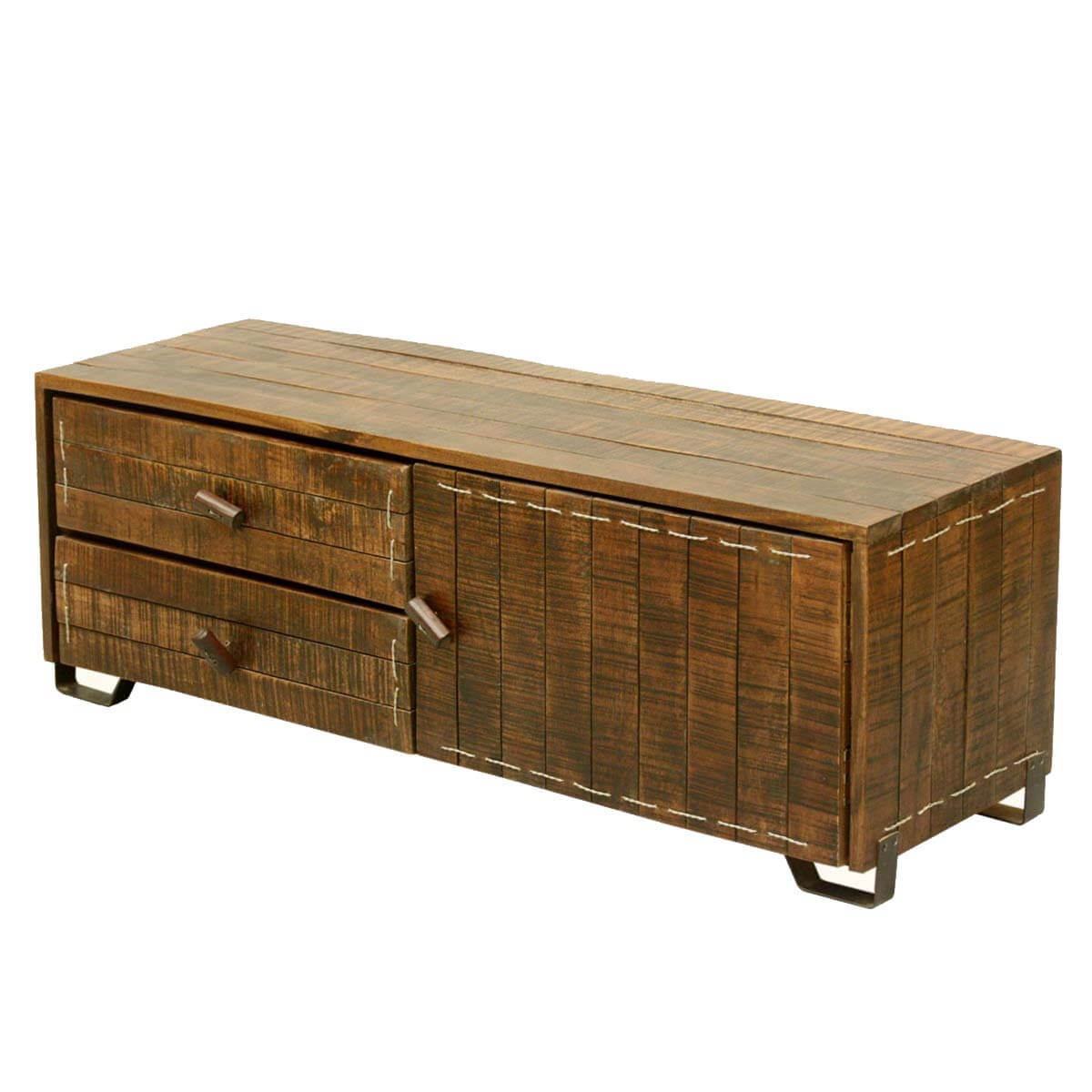 Scholar Reclaimed Wood Furniture Tv Stand Media Console W