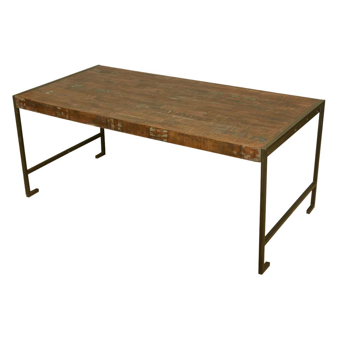 Philadelphia modern rustic reclaimed wood industrial for Wood modern dining table