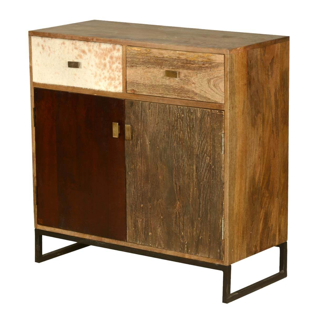 60's Retro Mango Wood Free Standing Kitchen Cabinet Mini Buffet. Full resolution‎  file, nominally Width 1200 Height 1200 pixels, file with #B78414.