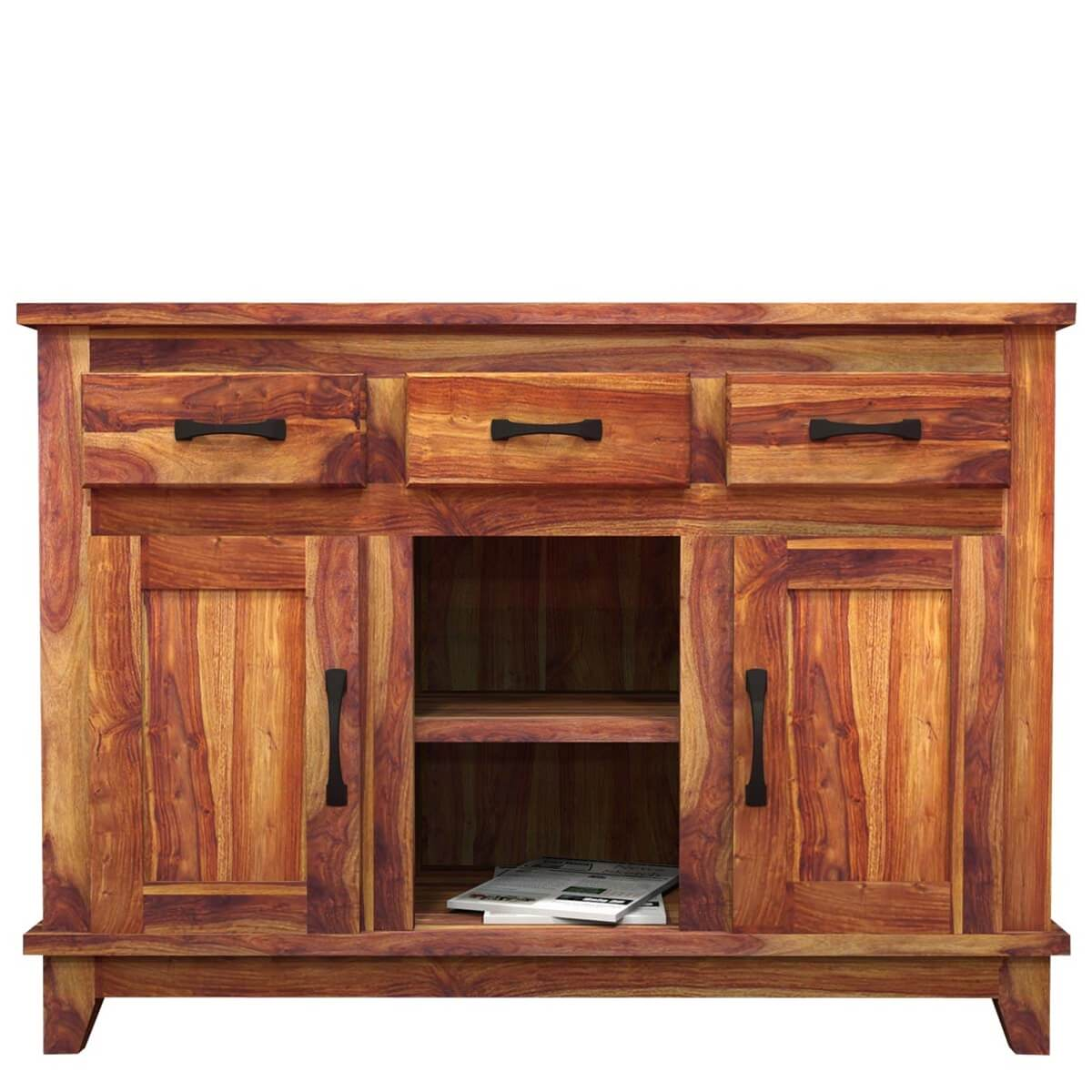 Pics Photos Contemporary Wood Buffet Cabinet Sideboard Dining Room . Full resolution  picture, nominally Width 1200 Height 1200 pixels, picture with #B28C19.