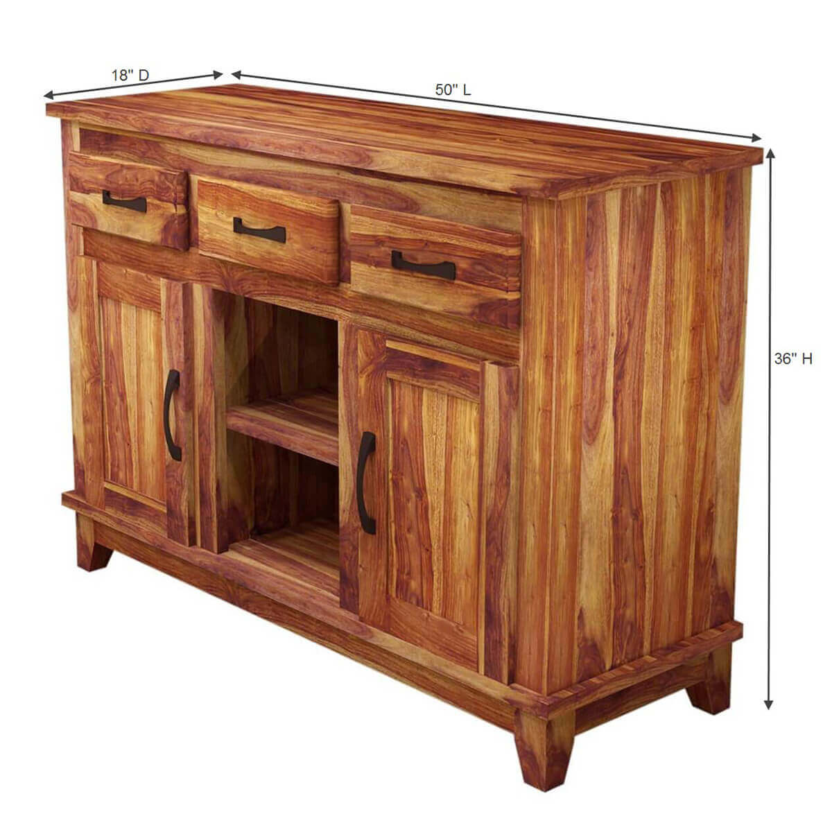 Wood Sideboard Buffet Cabinet Contemporary Buffets And Sideboards. Full resolution  picture, nominally Width 1200 Height 1200 pixels, picture with #B28C19.