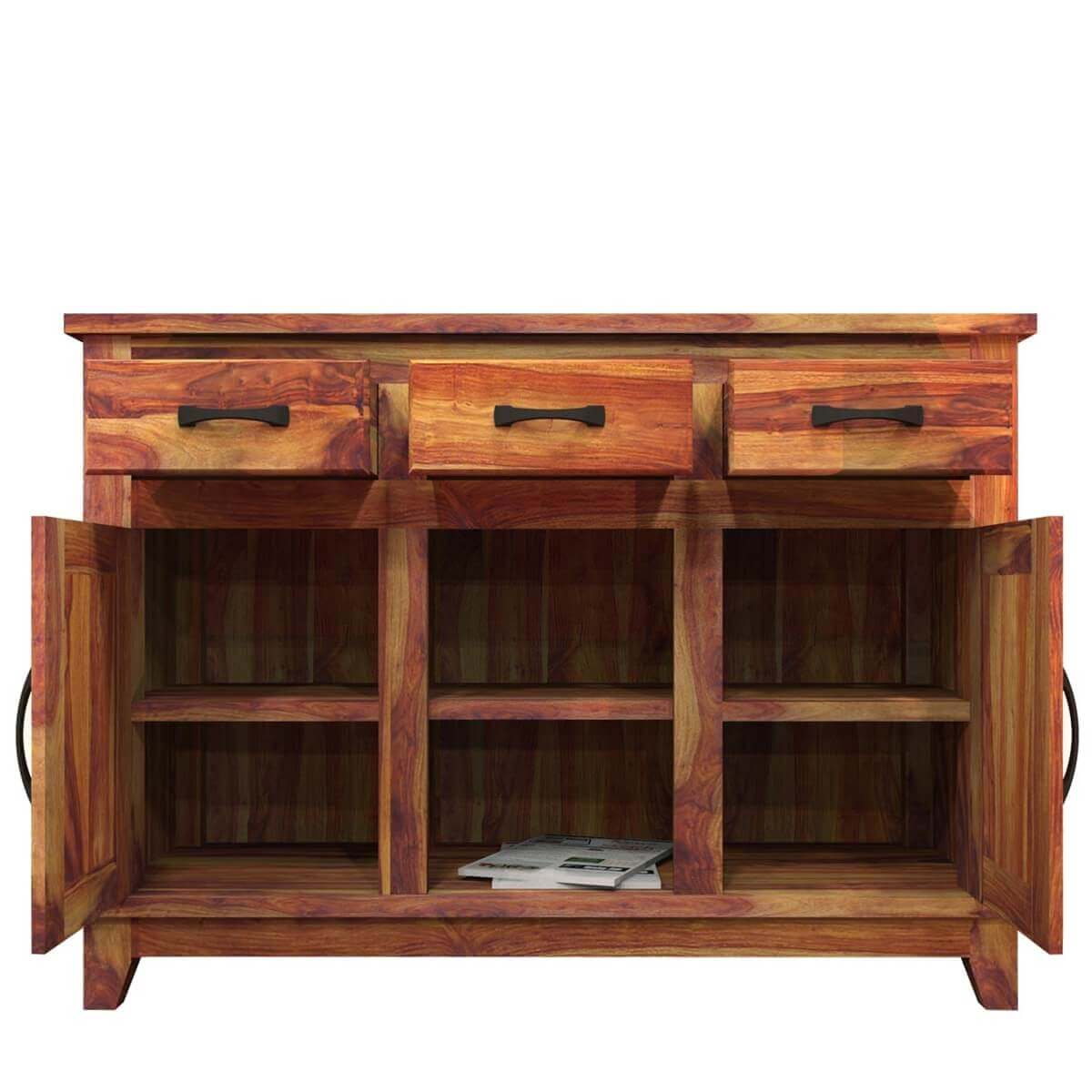 Pics Photos Contemporary Wood Buffet Cabinet Sideboard Dining Room . Full resolution  picture, nominally Width 1200 Height 1200 pixels, picture with #B27F19.