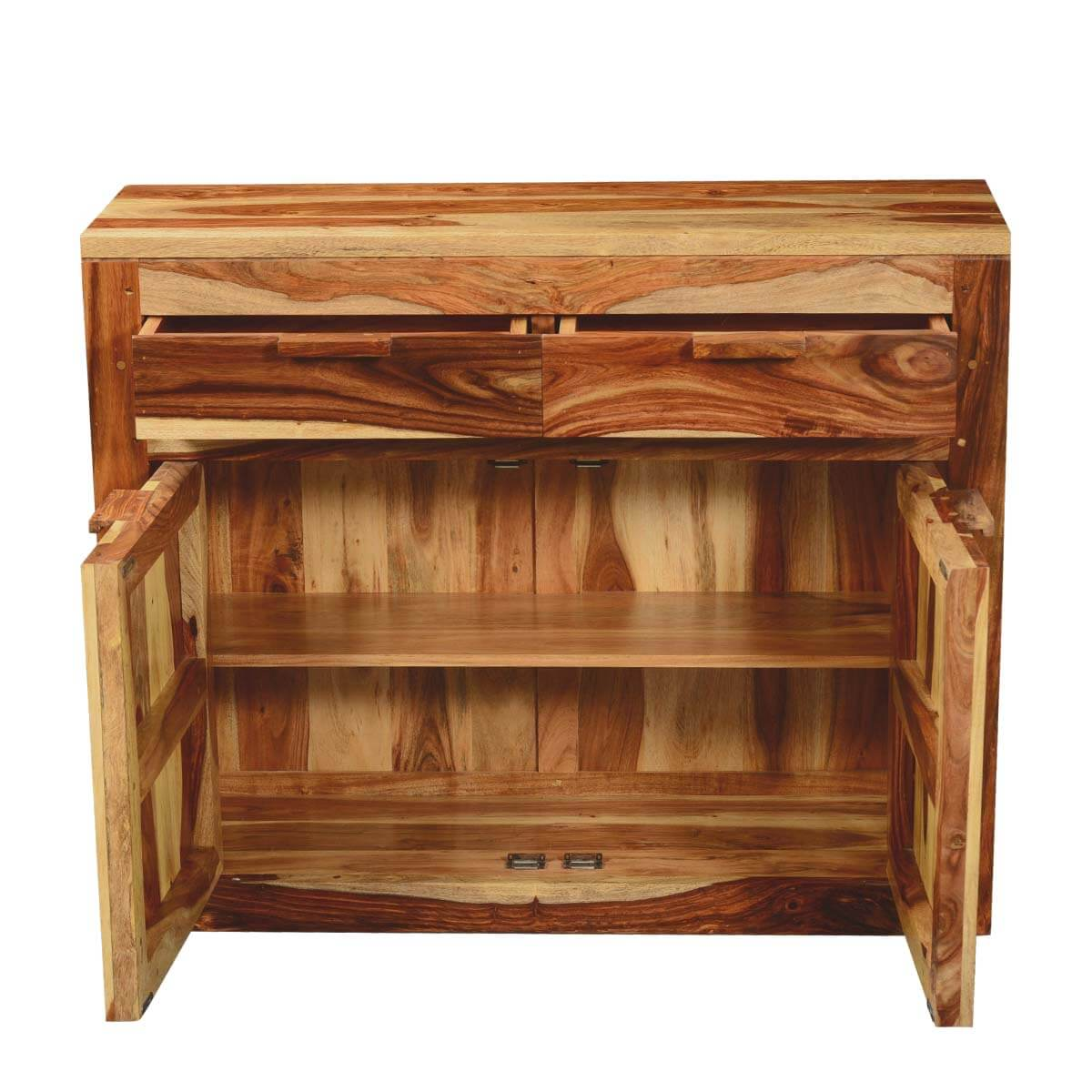 Dallas ranch solid wood acacia kitchen cabinet buffet for Acacia wood kitchen cabinets