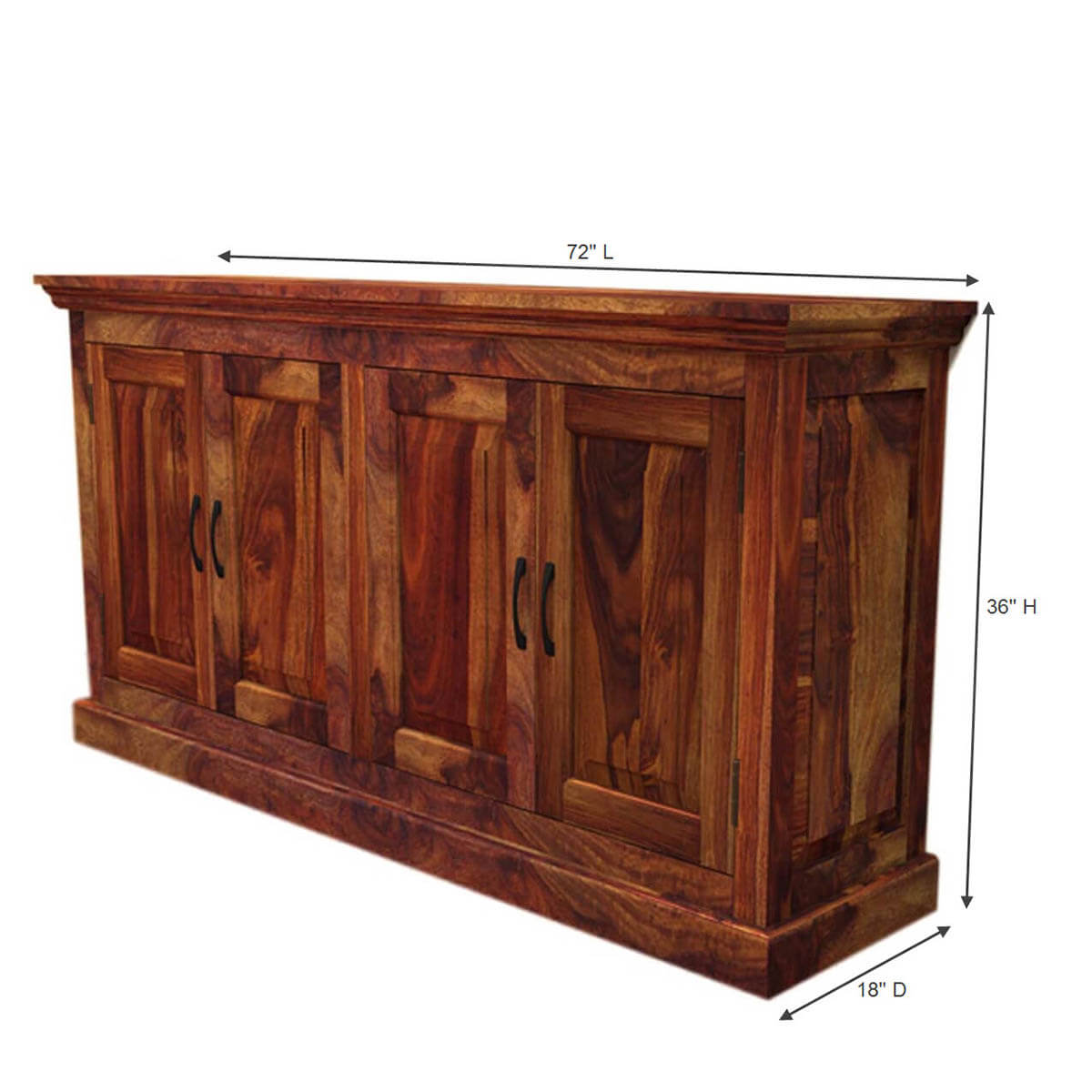 and buffets oklahoma rustic solid wood dining buffet sideboard server