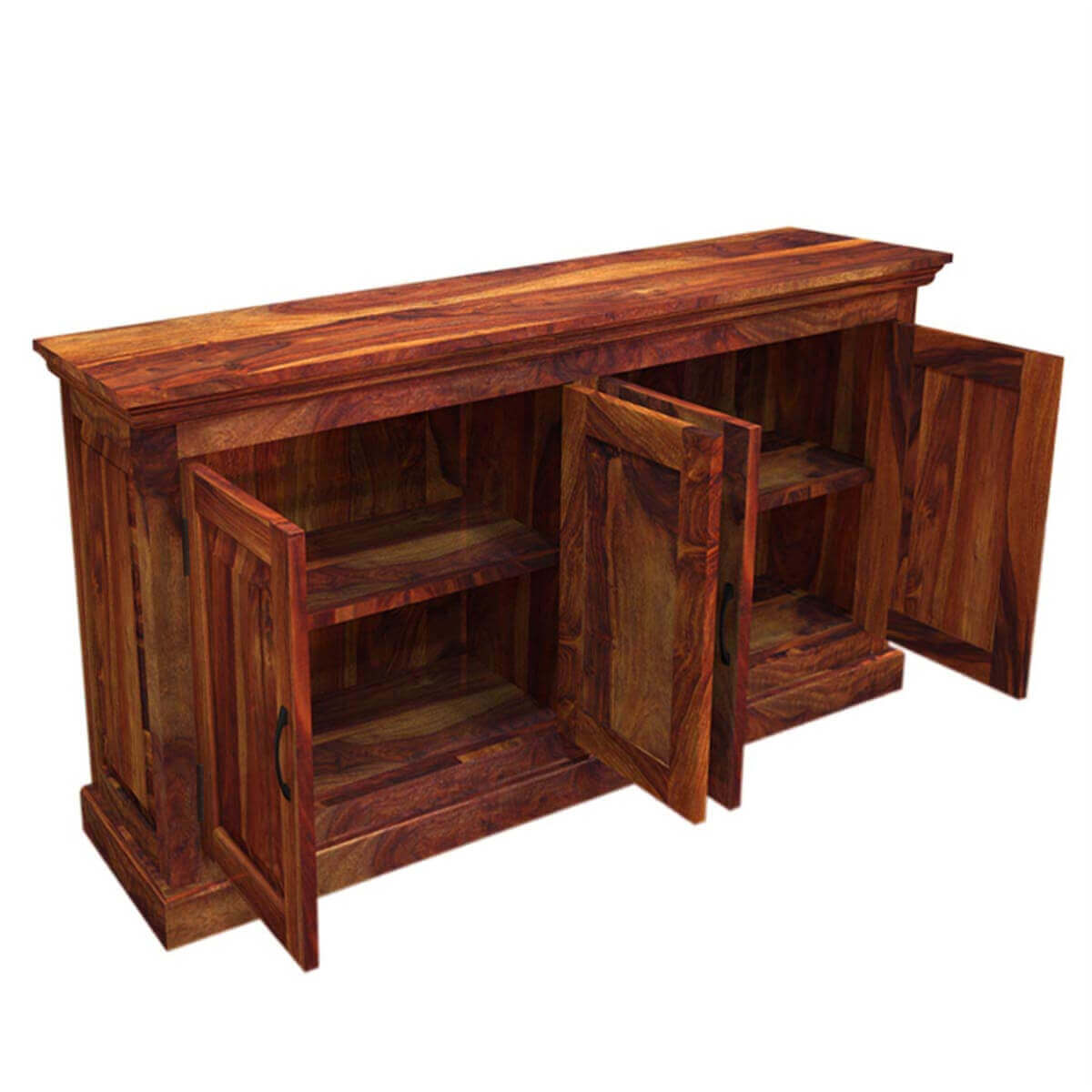 Oklahoma Rustic Solid Wood Dining Buffet Sideboard Server