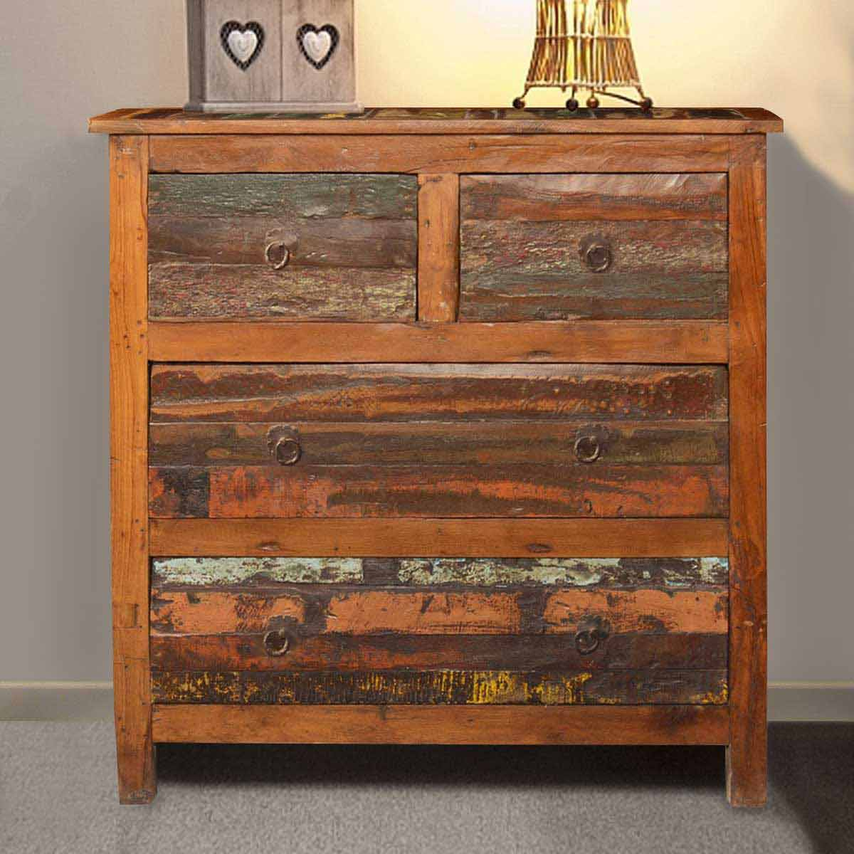Appalachian Country Reclaimed Wood Rustic Dresser Chest. Full resolution  portraiture, nominally Width 1200 Height 1200 pixels, portraiture with #B28C19.
