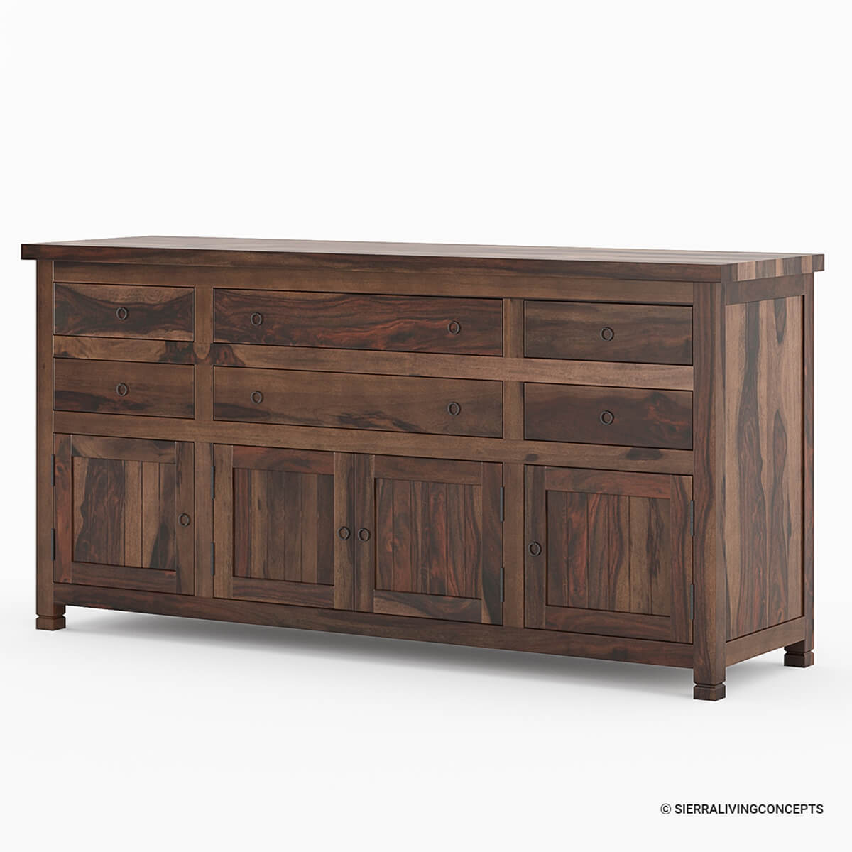 Richmond spacious solid wood drawer door buffet