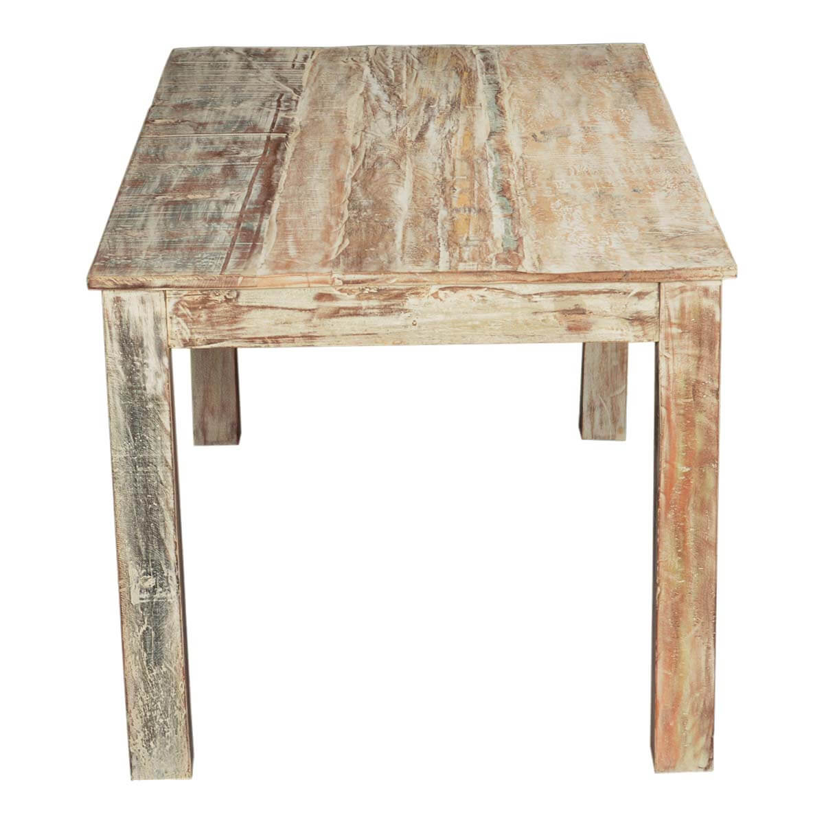 Rustic Wooden Dining Tables ~ Rustic reclaimed wood texas distressed dining table