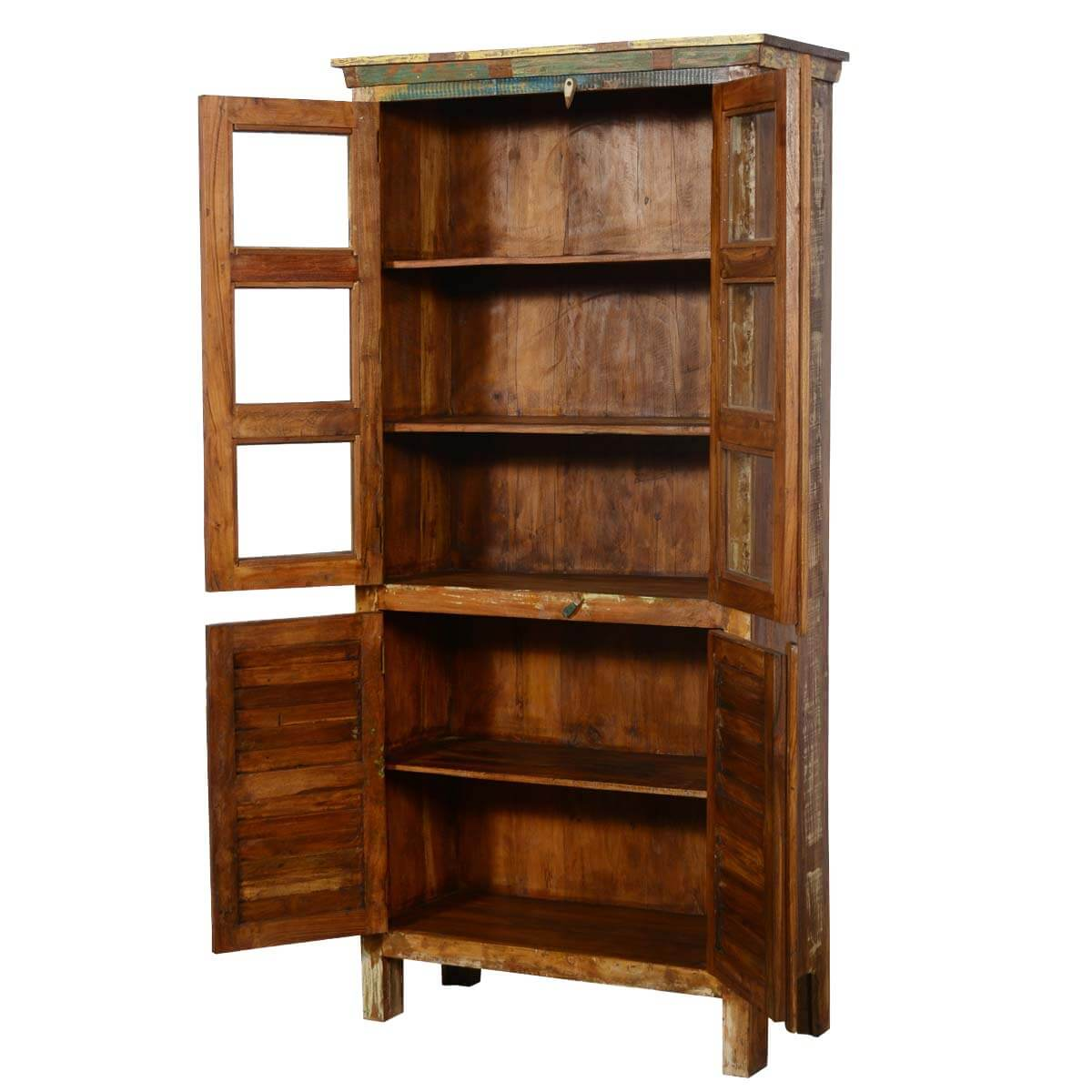 collection appalachian reclaimed wood rustic bedroom armoire wardrobe