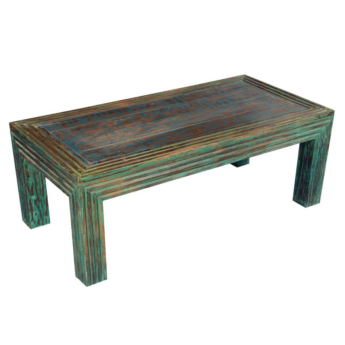 Log Cabin Modern Reclaimed Wood 47 5 Coffee Table
