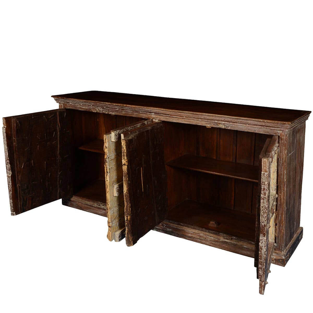 Gothic Dreams Reclaimed Wood 85quot Sideboard Cabinet : 64063 from www.sierralivingconcepts.com size 1200 x 1200 jpeg 115kB