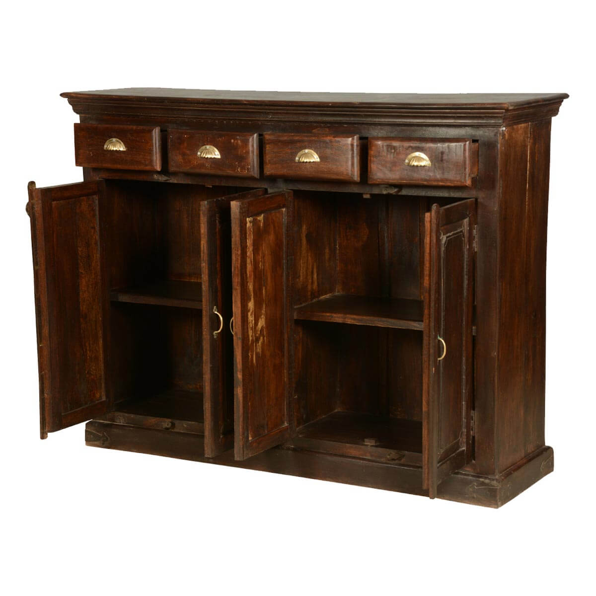 Distressed Wood Buffet ~ Distressed sideboard