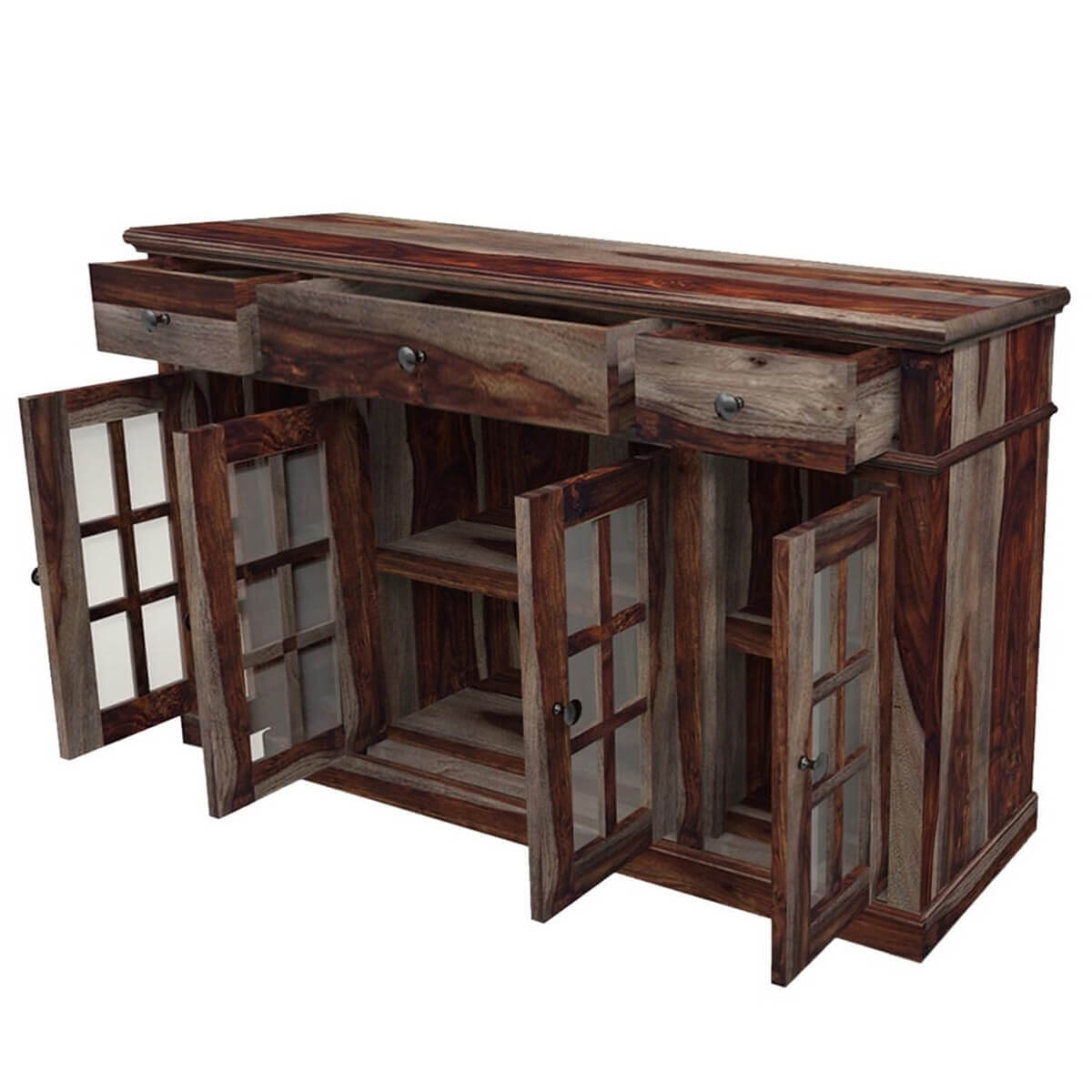 New Arrivals Texas Solid Wood Rustic Sideboard Contemporary Buffet. Full resolution  picture, nominally Width 1200 Height 1200 pixels, picture with #B48317.
