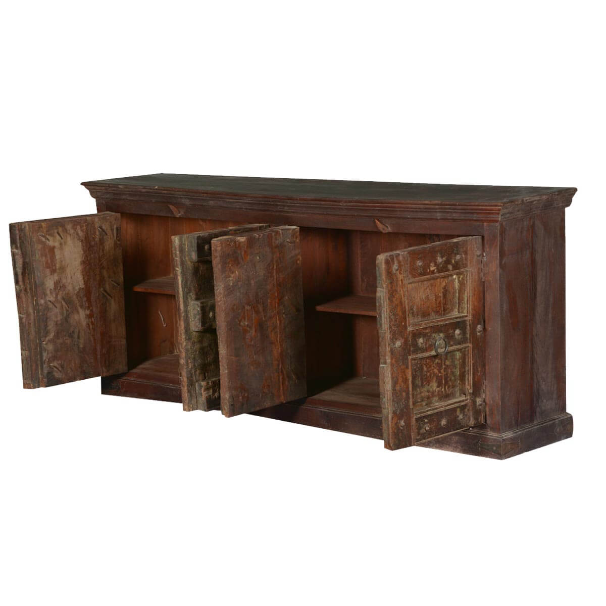 Rustic Gothic Mango amp Reclaimed Wood Sideboard Cabinet : 66533 from sierralivingconcepts.com size 1200 x 1200 jpeg 107kB