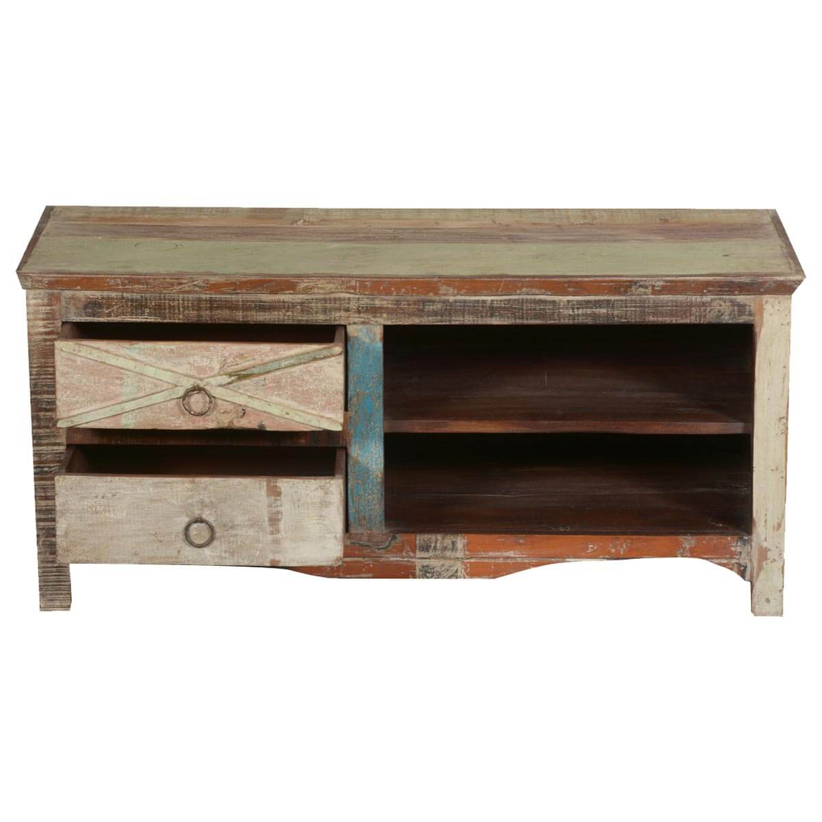 Ecogreen Rustic Reclaimed Wood Tv Console Media Center. Cost Of Adding A Bathroom. Neutral Living Room. Kansas Furniture Mall. Kitchen Window Treatments. Cool Shelves. How To Make A Mobile. Copper Pendant. Steampunk Home Decor