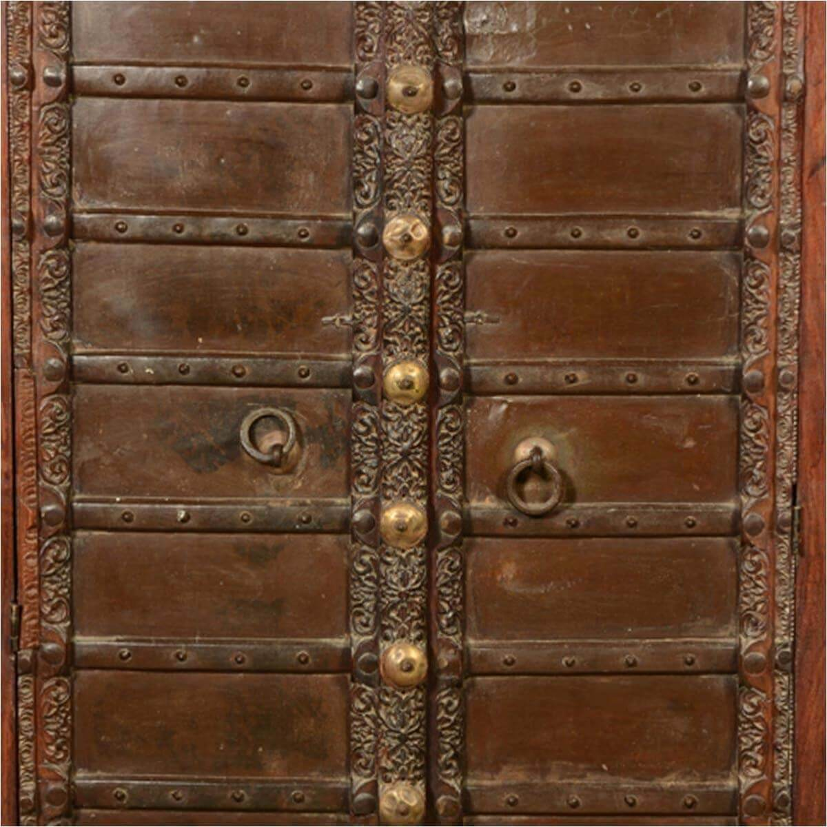 Thurston traditions reclaimed wood rustic armoire
