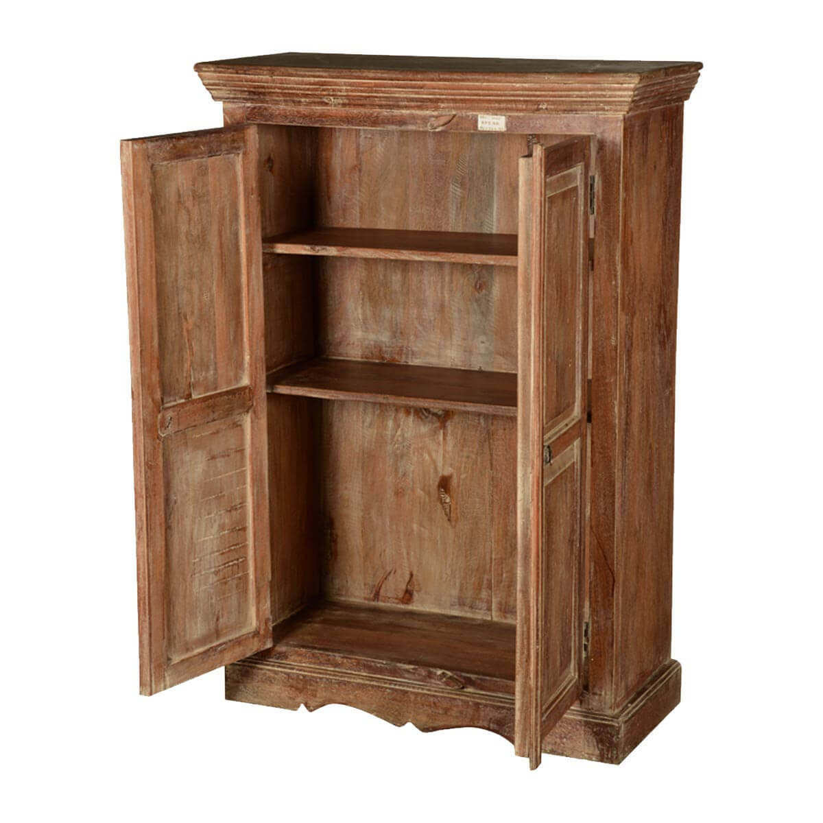 Cabinets & Rack Colonial American Rustic Reclaimed Wood Freestanding. Full resolution‎  photograph, nominally Width 1200 Height 1200 pixels, photograph with #B28C19.