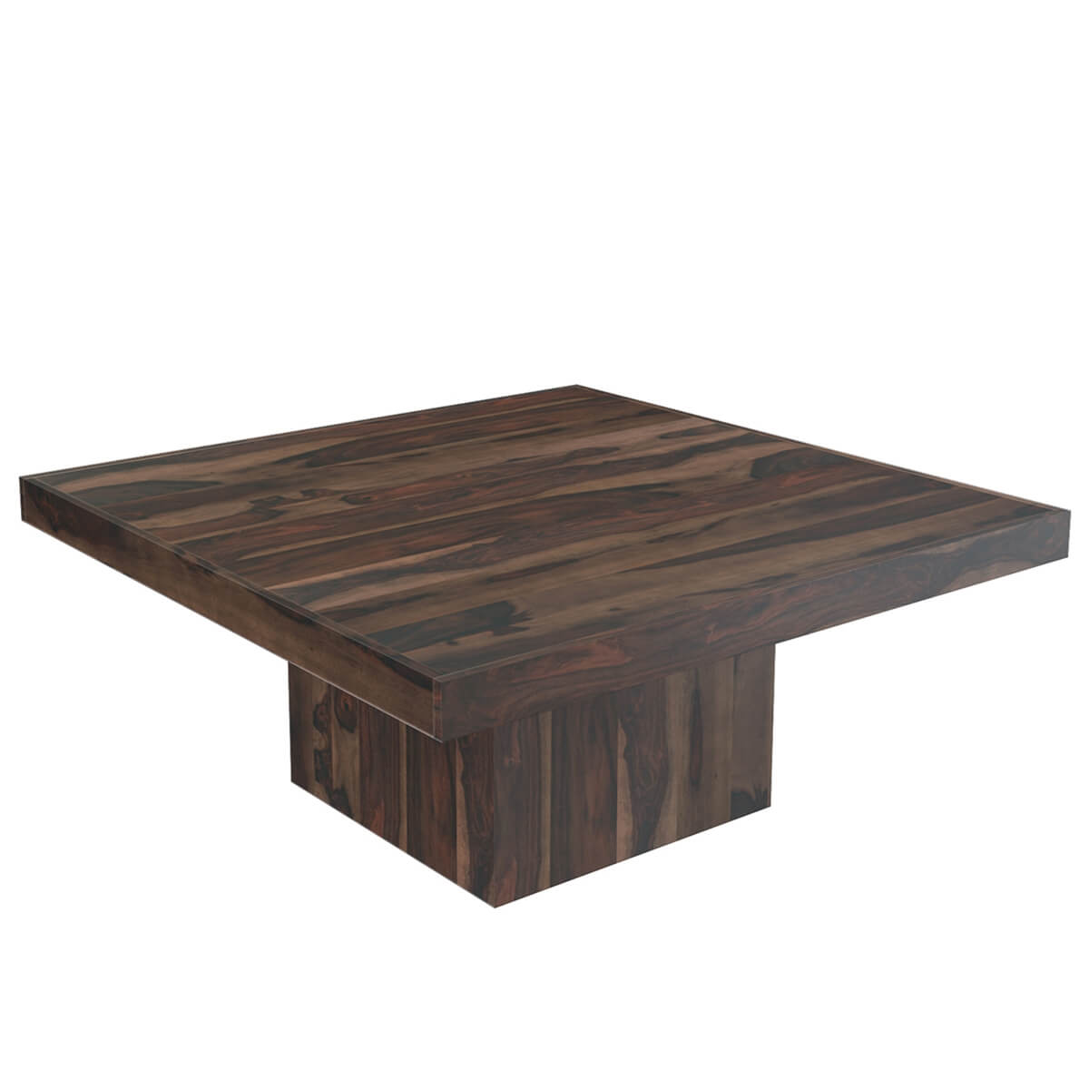 Modern Rustic Solid Wood 64quot Square Pedestal Dining Table  : 69066 from www.sierralivingconcepts.com size 1200 x 1200 jpeg 410kB