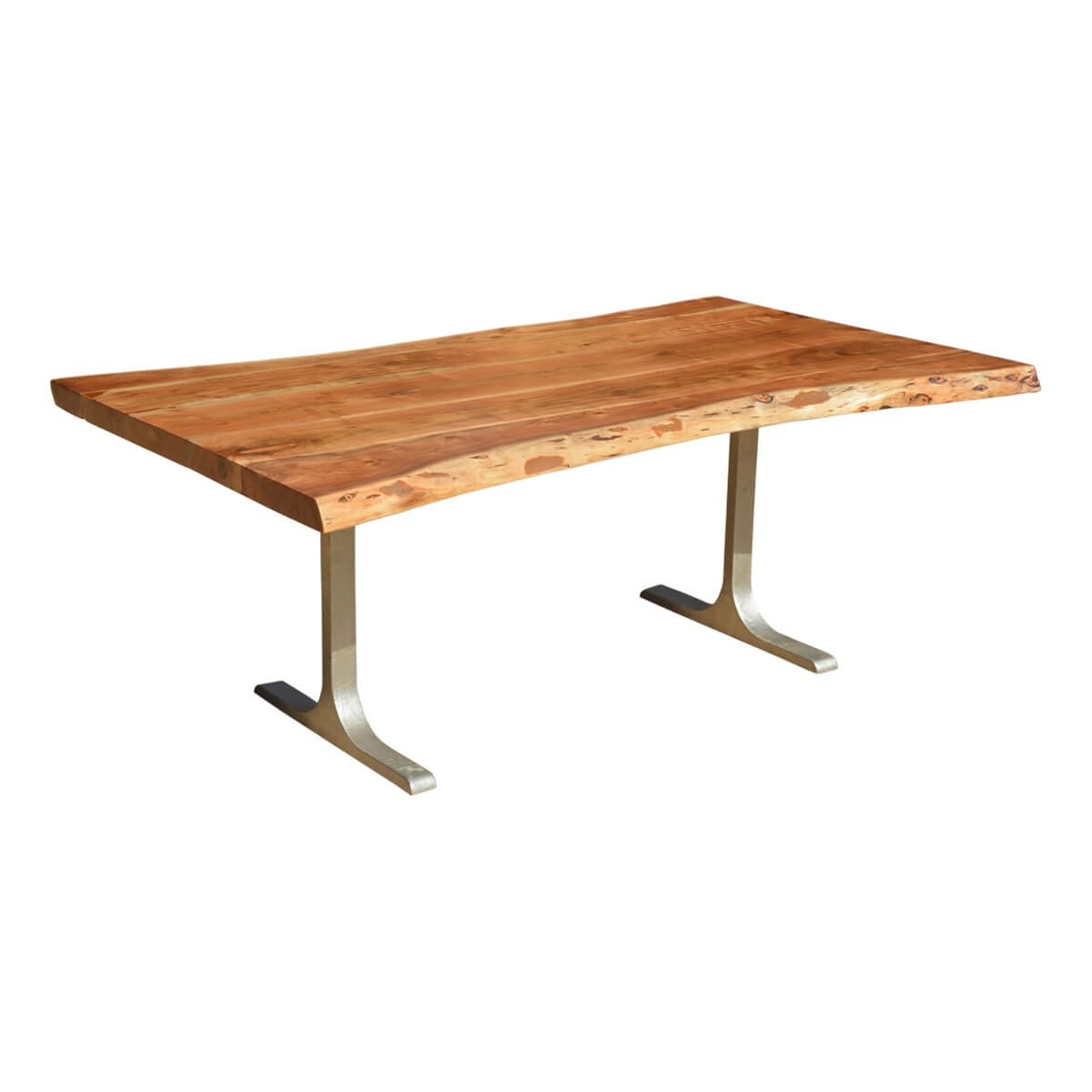 Solid Wood amp Iron Base Santa Fe Live Edge Dining Table : 69982 from www.sierralivingconcepts.com size 1200 x 1200 jpeg 162kB