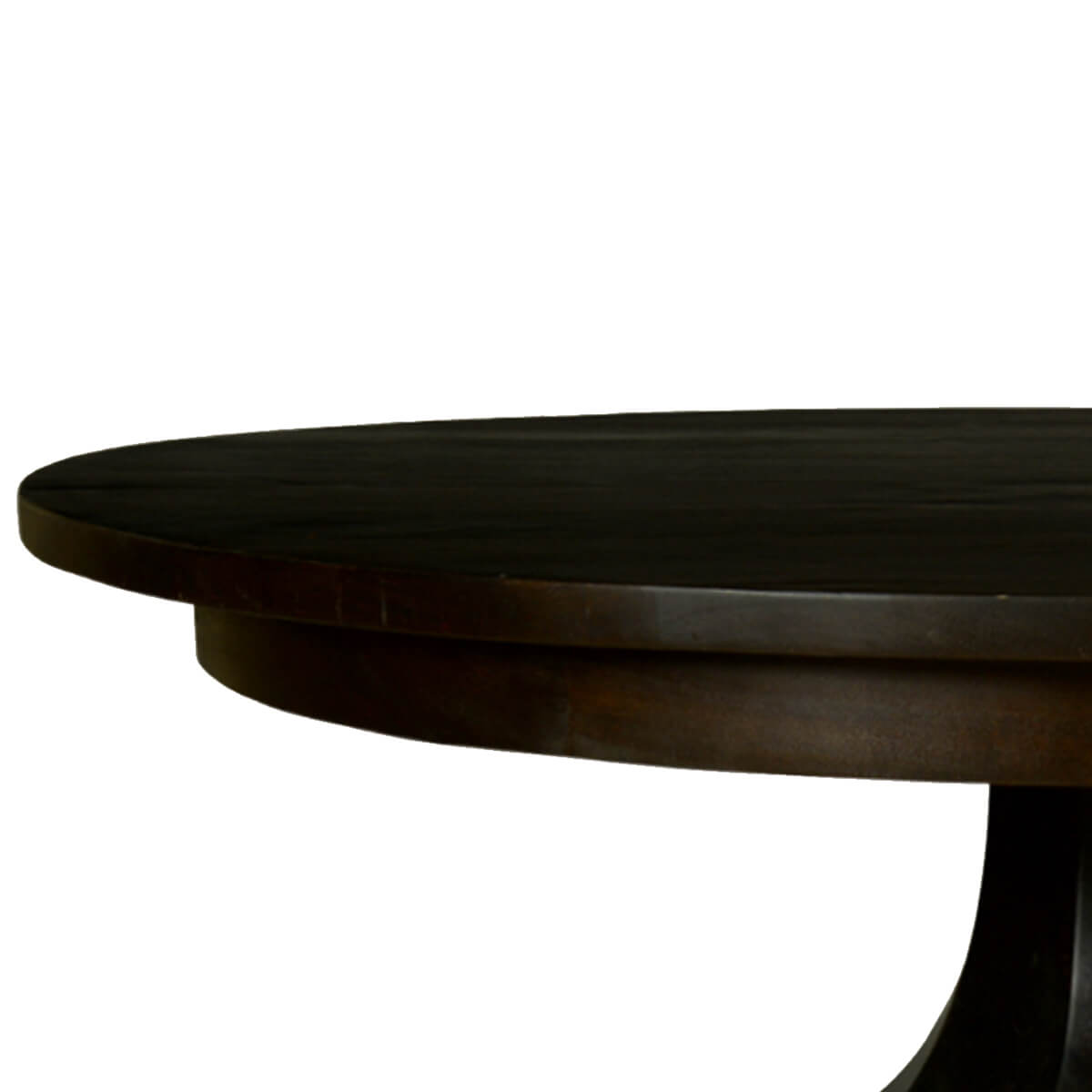 Midnight Solid Mango Wood Round Pedestal Dining Table : 72123 from www.sierralivingconcepts.com size 1200 x 1200 jpeg 280kB