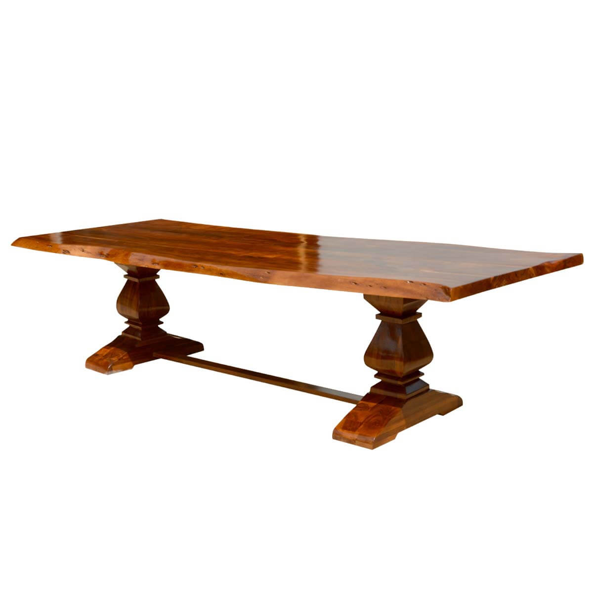 Live Edge Acacia Wood Trestle Dining Table : 73912 from www.sierralivingconcepts.com size 1200 x 1200 jpeg 61kB