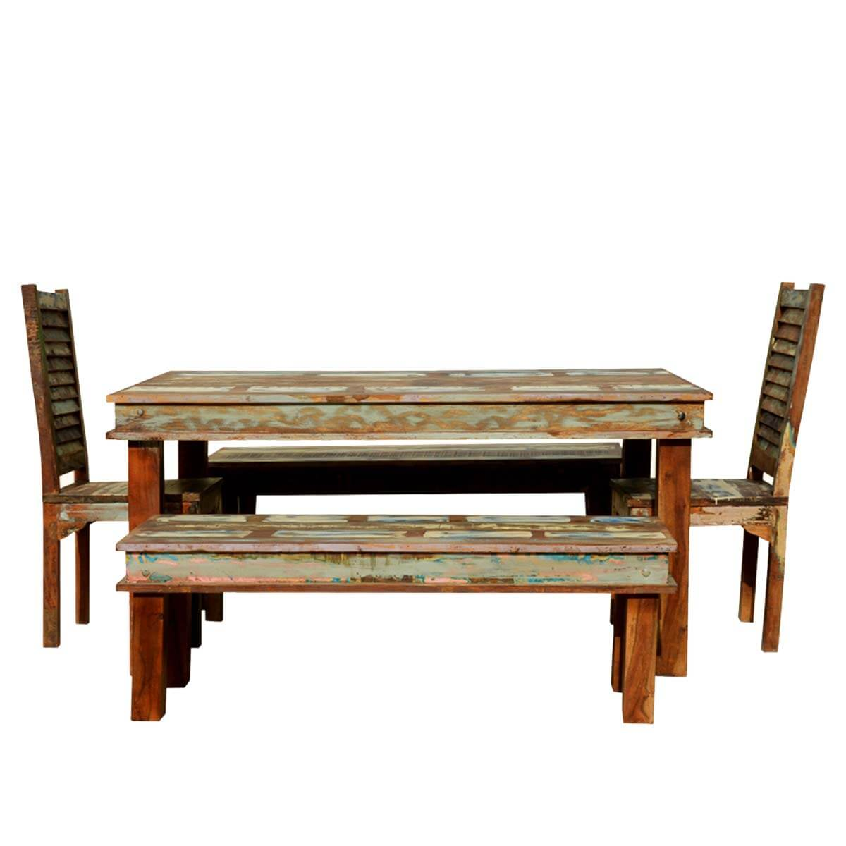 Home Reclaimed Wood Furniture Dining Room Sierra Reclaimed Wood . Full resolution  photograph, nominally Width 1200 Height 1200 pixels, photograph with #B48317.