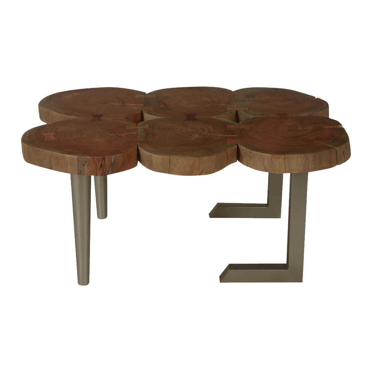 Wood stump coffee table coffee table from tree stump for Table queens acacia
